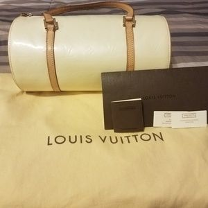 Louis Vuitton Monogram Vernis Bedford Barrel Bag